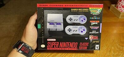 $ CDN493.59 • Buy Super Nintendo SNES Classic Edition NIB Unopened And Not Modded