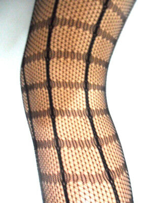 £3.50 • Buy New Womens Ladies Crochet Fishnet Tights Pantyhose Fancy Party One Size 8 To 14