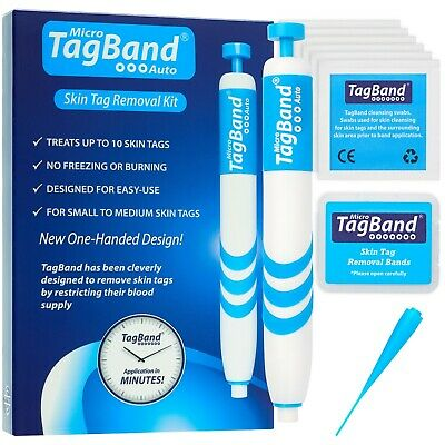 AU38.77 • Buy Micro Auto TagBand Skin Tag Removal Kit