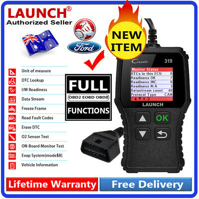 AU36.99 • Buy OBD2 OBDII Car Auto Diagnostic Scan Tool Fault Code Reader For FORD HOLDEN Etc.