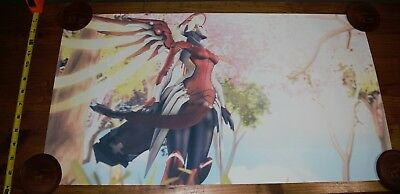 AU23.17 • Buy Overwatch Mercy Video Game Anime Silk Art 13x24
