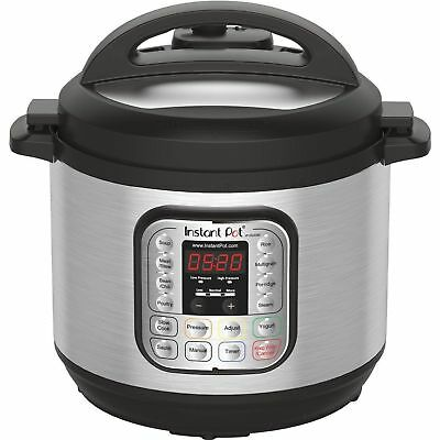 $100.99 • Buy Instant Pot IPDUO80 7in1 Programmable Electric Pressure Cooker, 8 Qt - Display