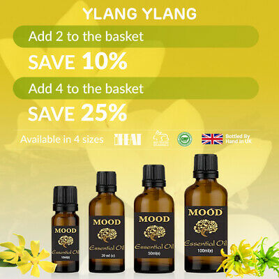 Essential Oils Ylang Ylang Fragrance Oils Aromatherapy Diffuser Essential Oil • 12.99£