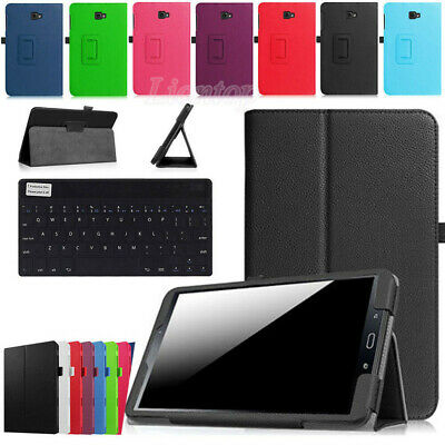 AU14.89 • Buy For Samsung Galaxy Tab A 8  SM-T350 T355 SM-T355Y Leather Case Cover Keyboard YH