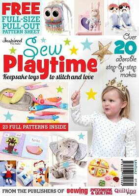 Sew Playtime- Keepsake Toys To Stitch And Love - Sewing Book • 4.50£