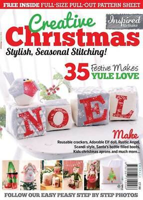 Creative Christmas - Sewing Craft Book / Magazine • 4.50£