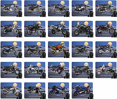 Mouse Pad With Motorcycle Motif: Yamaha Models Mousepad Biker Part 2 From 2 • 13.20£