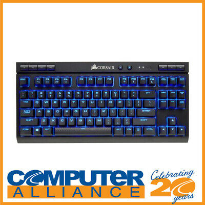 AU209 • Buy Corsair Wired/Wireless K63 MX RED With Blue LED Mechanical Gaming Keyboard PN CH
