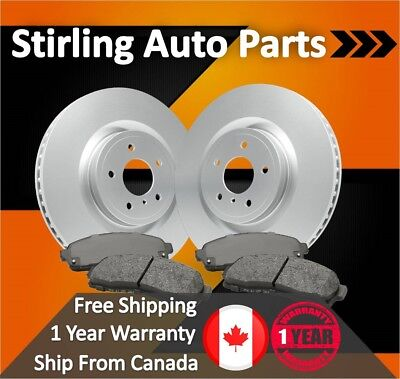 $142.86 • Buy 2005 2006 2007 For Mercury Mariner Coated Front Rotors And Pads W/Rear Disc