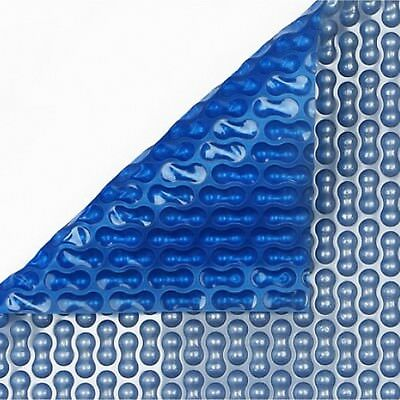 24ft X 12ft Geo-Bubble Silver/Blue 400 Micron Swimming Pool Solar Cover • 206.64£