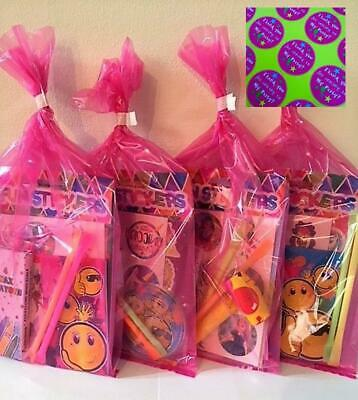 Set of 10 Disney Princess Gift Bags Party Favors Goody Bags Muslin Bags Snow White Bags