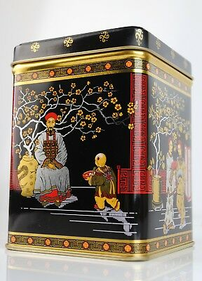 £5.80 • Buy 250g Chinese Tea Caddy - Storage Container Canister Tin Jar Vintage Traditional
