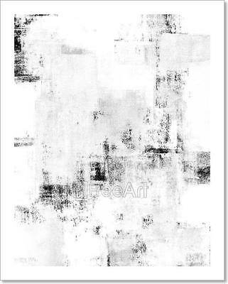 $1.99 • Buy Black And White Abstract Art Art Print Home Decor Wall Art Poster - D