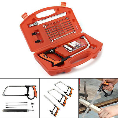 £8.99 • Buy Protable 11 In 1 DIY Saw Hand Set For Wood Glass Tile Metal Cutting Working Tool