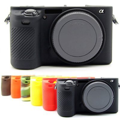 $ CDN11.05 • Buy Silicone Rubber Case Cover Body Protector Skin For Sony A6500 ILCE-6500 Camera