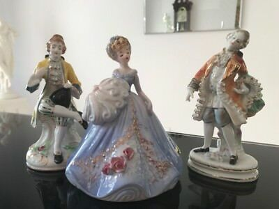 $ CDN39.64 • Buy Vintage Beautiful Porcelain Figurine  Friends  Excellent Quality!