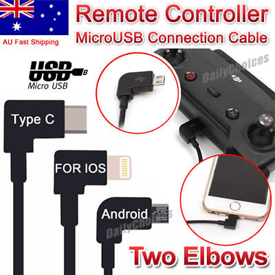 AU11.98 • Buy DJI Spark Mavic Pro Remote Controller USB To Type-C / Android / Iphone Cable