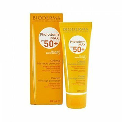 £18.04 • Buy Bioderma Photoderm Max Cream Spf50+ Very High Protection 40ml Very Fast Shipping