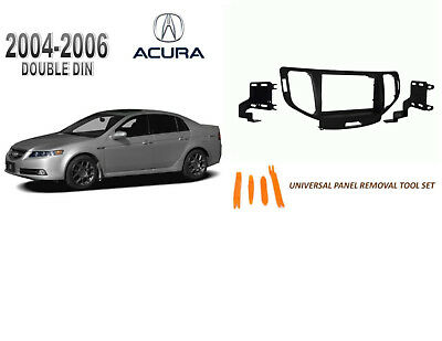 $12.99 • Buy NEW 2004-2006 ACURA TL Car Stereo DOUBLE DIN Dash Kit, Tool Set