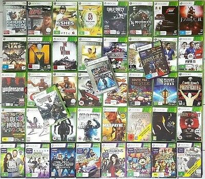 AU35.11 • Buy Microsoft Xbox 360 Games *NEW / SEALED : Select Your Titles - (PAL) - FREE POST