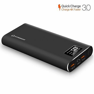 $ CDN49.98 • Buy HyperGear 26800 Dual Input QC-3.0 USB + USB-C Portable External Battery Charger