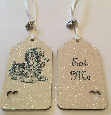 £3.99 • Buy Eat Me/drink Me - Alice In Wonderland Theme Gift Tags Party/ Bottle Mad Hatter