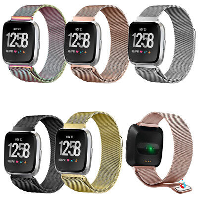 $ CDN16.75 • Buy For Fitbit Versa/Lite/Special Edition Magnetic Milanese Loop Strap Wristbands