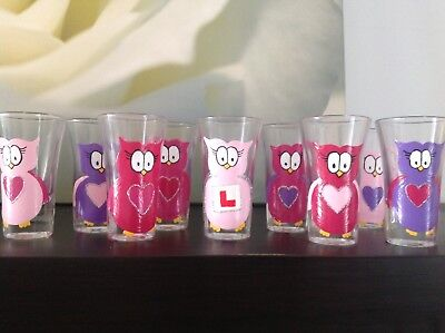 Personalised Shot Glasses Hen Party / Wedding Favours • 4£