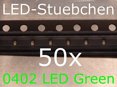 $5.87 • Buy 50x 0402 LED Grün