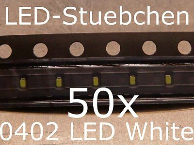 $5.87 • Buy 50x 0402 LED Kaltweiss