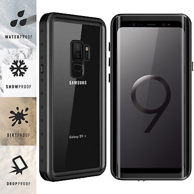 $ CDN22.03 • Buy For Samsung Galaxy S9 / S9 Plus Waterproof Case Cover Built-in Screen Protector