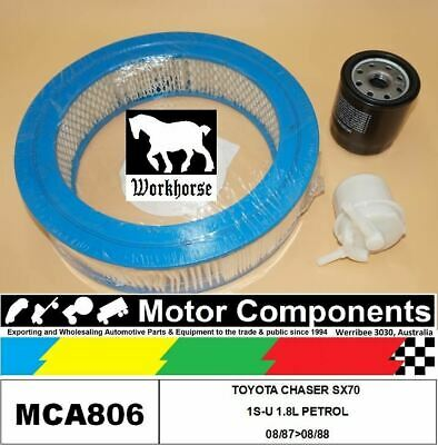 AU53.70 • Buy Filter Service Kit For Toyota Chaser Sx70 1s-u 1.8l Petrol 08/87>08/88