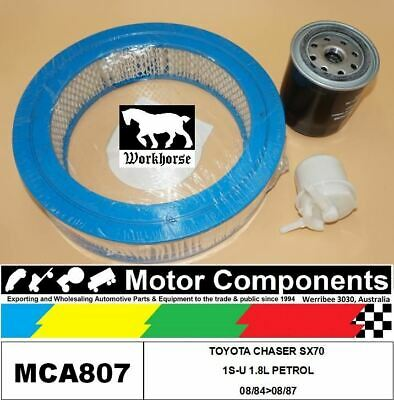 AU53.70 • Buy Filter Service Kit For Toyota Chaser Sx70 1s-u 1.8l Petrol 08/84>08/87