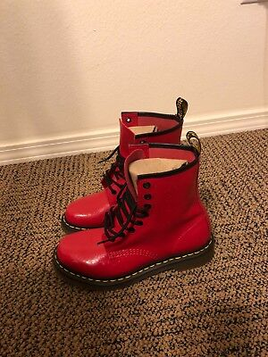 Women's Dr Martens Exclusive Red With Flowers • 70$