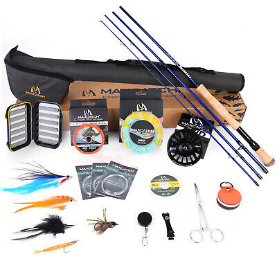 $ CDN239.21 • Buy Maxcatch Saltwater Fly Fishing Rod Combo Kit:8-10wt Fly Rod And Reel Outfit