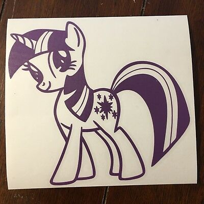 TwiLight Sparkle My Little Pony Decal Car Window Sticker • 1.81£
