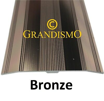 Bronze- Extra Wide Carpet Cover Strip - 61mm Width Door Bar Trim Threshold Metal • 9.95£