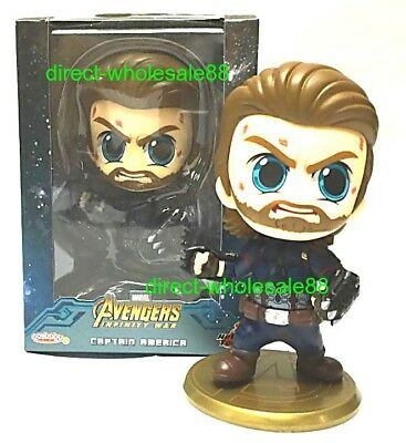 $ CDN35.70 • Buy Hot Toys Avengers Infinity War Captain America Cosbaby Marvel