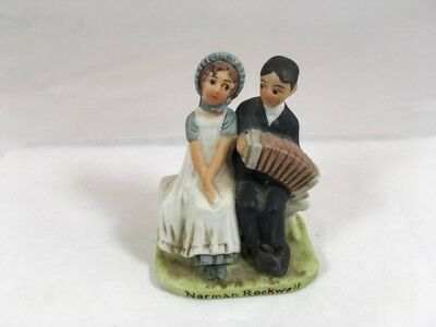 $ CDN20.69 • Buy Norman Rockwell NR-207 Lovers 1979 Dave Grossman Mini Figurine