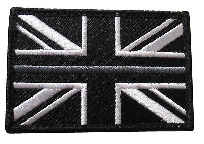 Thin Grey Line HM Prison Service Union Jack Badge Patch Large TRF HMP • 3.70£