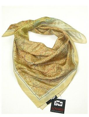 Silk Escape Map Scarf - Official IWM Wwii Air Force Cloth Maps For Sale Evasion • 44.99£