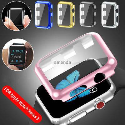AU6.99 • Buy Apple Watch Slim Screen Protector Case For 38mm &42mm Front Cover IWatch 2 3 4 5