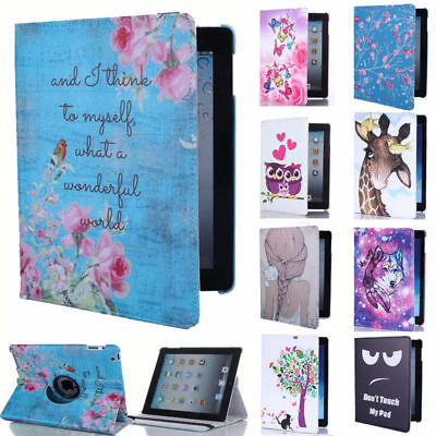 £9.79 • Buy For Apple IPad 9.7 2018 (6th Generation) 360° Rotating Leather Smart Case Cover