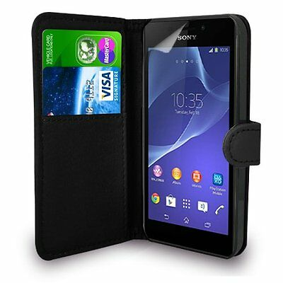 AU7.99 • Buy For SONY XPERIA MODEL  - Premium Leather Magnetic Flip Wallet Case Cover