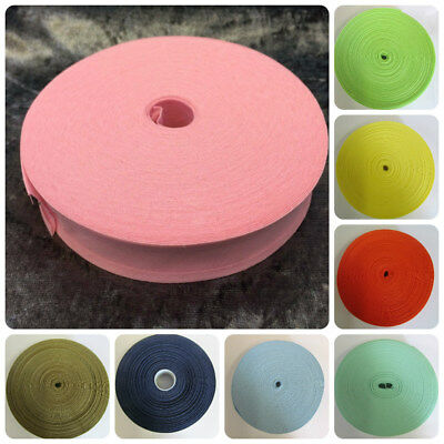 £2.49 • Buy Cotton Bias Binding Rolls 1 Inch / 25mm One Inch Wide Different Colours
