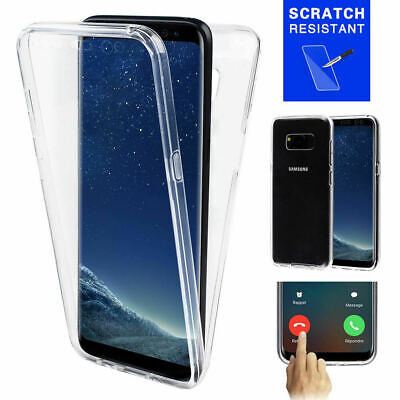 $ CDN3.99 • Buy Samsung S7 S7 Edge S8 S9 S10 S10+ 360° Double Sided Transparent Clear Case Cover