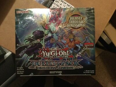 Yu-Gi-Oh! Duelist Pack: Dimensional Guardians Booster Box • 35.18£