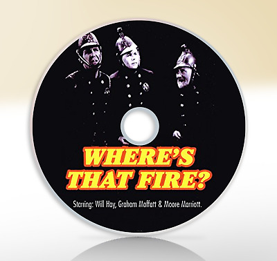 Where`s That Fire (1940) DVD Classic Comedy Movie / Film Will Hay • 2.51£