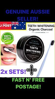 AU19.99 • Buy Carbon Coco Activated Charcoal Teeth Tooth Whitening 100% Organic Coconut Powder
