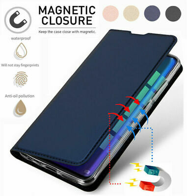 AU8.01 • Buy For Huawei Y9 2019/Y7 Pro 2019/Y6 2019 Leather Flip Magnetic Wallet Case Cover